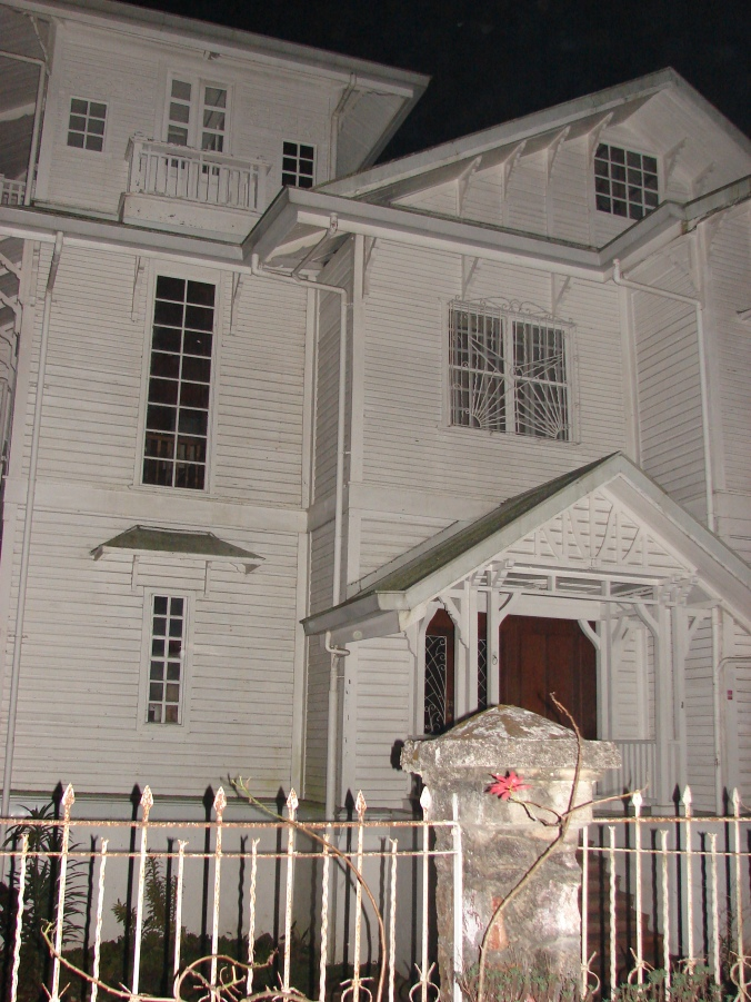 White Haunted House in Baguio